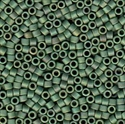 Picture of Miyuki Delica Seed Beads | 11/0 - DB-0373 (P1) Matte Opaque Sage Green Luster AB (5 g.)