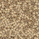 Picture of Miyuki Delica Seed Beads | 11/0 - DB-1458 (G) Silver Lined Antique Parchment Opal (5 g.)