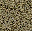 Picture of Miyuki Delica Seed Beads | 11/0 - DB-0372 (P1) Matte Opaque Olive Luster AB (5 g.)