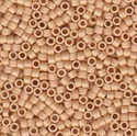 Picture of Miyuki Delica Seed Beads | 11/0 - DB-0389 (F) Matte Opaque Med. Tan (5 g.)