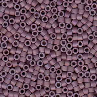 Picture of Miyuki Delica Seed Beads | 11/0 - DB-1066 (P1) Matte Mauve Lilac Luster AB (5 g.)