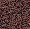Picture of Miyuki Delica Seed Beads | 11/0 - DB-0865 (B) Matte Transparent Plum Brown AB (5 g.)