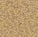 Picture of Miyuki Delica Seed Beads | 11/0 - DB-0382 (F) Matte Transparent Applesauce Luster (5 g.)