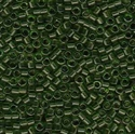 Picture of Miyuki Delica Seed Beads | 11/0 - DB-1107 (A) Transparent Olive Green (5 g.)