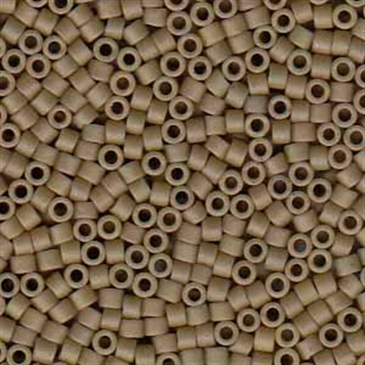 Picture of Miyuki Delica Seed Beads | 11/0 - DB-0390 (F) Matte Opaque Khaki (5 g.)