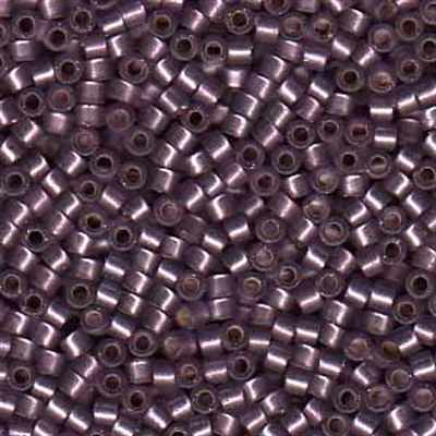 Picture of Miyuki Delica Seed Beads | 11/0 - DB-0695 (G1) Semi-Matte Silver-Lined Mulberry (5 g.)