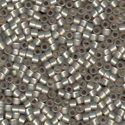 Picture of Miyuki Delica Seed Beads | 11/0 - DB-0630 (G1) Silver Lined Grey Opal (5 g.)