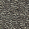 Picture of Miyuki Delica Seed Beads | 11/0 - DB-0038 (PM4) Palladium Plated (2.5g)