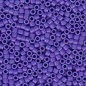 Picture of Miyuki Delica Seed Beads | 11/0 - DB-0661 (B) Dyed Opaque Blue Violet (5 g.)