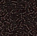 Picture of Miyuki Delica Seed Beads | 11/0 - DB-0715 (A) Transparent Dk. Brown (5 g.)