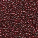 Picture of Miyuki Delica Seed Beads | 11/0 - DB-0105 (D) Transparent Ruby w/Garnet Luster (5 g.)