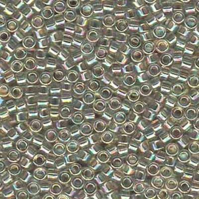 Picture of Miyuki Delica Seed Beads | 11/0 - DB-1251 (A) Transparent Grey Mist AB (5 g.)