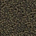 Picture of Miyuki Delica Seed Beads | 11/0 - DB-0657 (B) Dyed Opaque Olive Drab (5 g.)