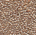 Picture of Miyuki Delica Seed Beads | 11/0 - DB-0433 (P) Galvanized Champagne Gold (5 g.)