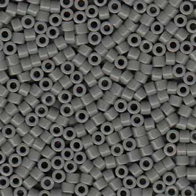 Picture of Miyuki Delica Seed Beads | 11/0 - DB-0731 (A) Opaque Grey (5 g.)