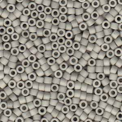 Picture of Miyuki Delica Seed Beads | 11/0 - DB-1518 (G) Matte Opaque Lt. Dove Grey (5 g.)