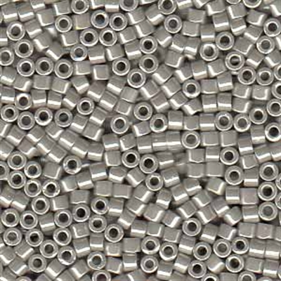 Picture of Miyuki Delica Seed Beads | 11/0 - DB-1538 (B) Opaque Lt. Dove Grey Luster (5 g.)