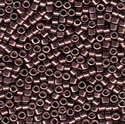 Picture of Miyuki Delica Seed Beads | 11/0 - DB-0454 (Q) Nickel Plated Smoked Amethyst (5 g.)