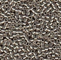 Picture of Miyuki Delica Seed Beads | 11/0 - DB-0436 (P) Galvanized Lt. Pewter (5 g.)