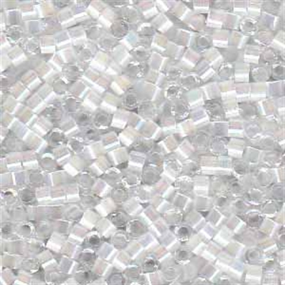 Picture of Miyuki Delica Seed Beads | 11/0 - DB-0670 (G1) Crystal Silk AB (5 g.)