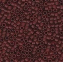 Picture of Miyuki Delica Seed Beads | 11/0 - DB-1262 (B) Matte Transparent Cherry Cola (5 g.)