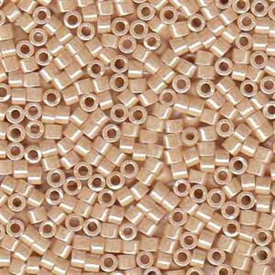 Picture of Miyuki Delica Seed Beads | 11/0 - DB-0205 (A1) Opaque Med. Beige Luster (5 g.)