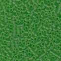 Picture of Miyuki Delica Seed Beads | 11/0 - DB-1266 (B) Matte Transparent Green Apple (5 g.)