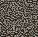 Picture of Miyuki Delica Seed Beads | 11/0 - DB-1175 (R) Matte Galvanized Graphite Grey (5 g.)