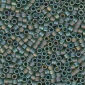 Picture of Miyuki Delica Seed Beads | 11/0 - DB-1282 (B) Matte Transparent Olive Green AB (5 g.)