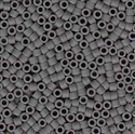 Picture of Miyuki Delica Seed Beads | 11/0 - DB-0761 (B) Matte Opaque Dk. Grey (5 g.)