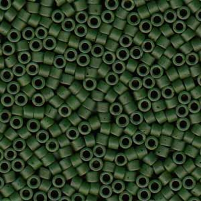 Picture of Miyuki Delica Seed Beads | 11/0 - DB-0797 (C) Semi-Matte Opaque Hunter Green (5 g.)