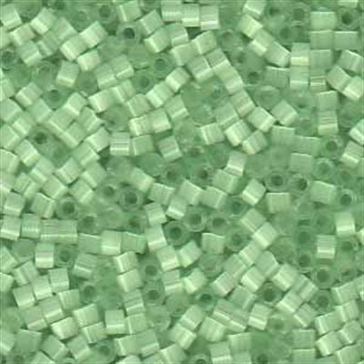 Picture of Miyuki Delica Seed Beads | 11/0 - DB-0828 (L) Mint Green Silk (5 g.)