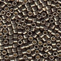 Picture of Miyuki Delica Seed Beads | 10/0 - DBM-1852 (N) DURACOAT Galvanized Pewter (5 g.)