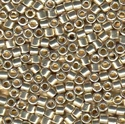Picture of Miyuki Delica Seed Beads | 10/0 - DBM-1831 (L) DURACOAT Galvanized Silver (5 g.)