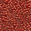 Picture of Miyuki Delica Seed Beads | 10/0 - DBM-1838 (N) DURACOAT Galvanized Paprika (5 g.)