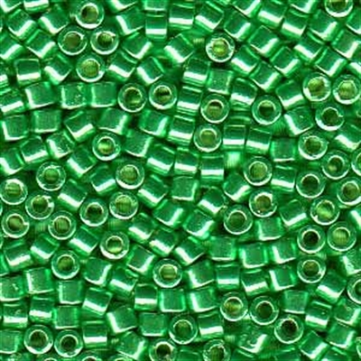 Picture of Miyuki Delica Seed Beads | 10/0 - DBM-1844 (N) DURACOAT Galvanized Spring Green (5 g.)