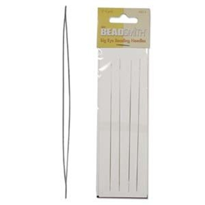 "Picture of BIG EYE Beading Needles | BeadSmith - 5"" Long"