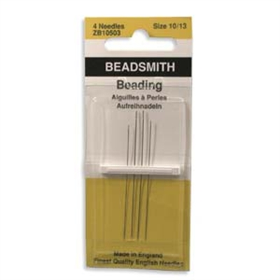 Picture of English Beading Needles | BeadSmith - Asst. Sizes #10, #12, #13