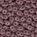 Picture of Czech SuperDuo Beads | SD-23020  Opaque Dusty Violet