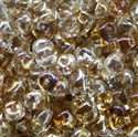 Picture of Czech SuperDuo Beads | SD-00030 W  Transparent Crystal Twilight