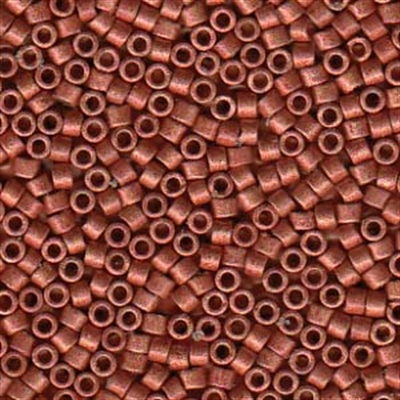 Picture of Miyuki Delica Seed Beads | 11/0 - DB-1838F (U) DURACOAT Matte Galvanized Paprika (5 g.)
