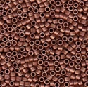 Picture of Miyuki Delica Seed Beads | 11/0 - DB-1842F (U) DURACOAT Matte Galvanized Russet (5 g.)