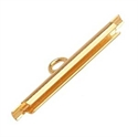 Picture of Miyuki End Tubes - 20mm Gold (4 pcs.)