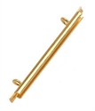 Picture of Miyuki End Tubes - 35mm Gold (4 pcs.)