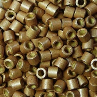 Picture of Miyuki Delica Seed Beads | 8/0 - DBL-1834F (Q) DURACOAT Galvanized Matte Rose Gold (5 g.)