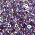 Picture of Czech SuperDuo Beads | SD-20500/28701  Transparent Tanzanite AB