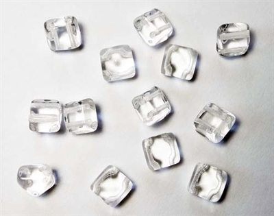 Picture of BST08-00030  Transparent Crystal (6 pcs.)