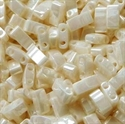 Picture of Miyuki Half Tila Beads | HTL-0592 (G) Antique Ivory Ceylon (5 g.)