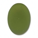 Picture of LUNASOFT Cabochon | #LS2518-20 - 25 x 18mm Oval - Olive