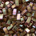Picture of Miyuki Half Tila Beads | HTL-2035 (K) Matte Metallic Antique Bronze AB (5 g.)